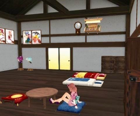 基本無料の和風オンラインアクションRPG『鬼斬』 自由に家具や内装をカスタマイズできる新機能「マイルーム」を実装