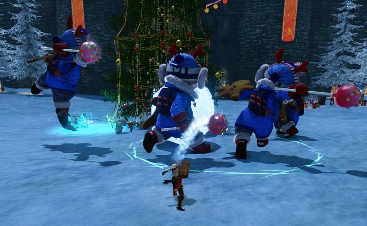 基本プレイ無料の自由系オンラインRPG、アーキエイジ、イベント「スノーフレーク島への招待」を開始したよ