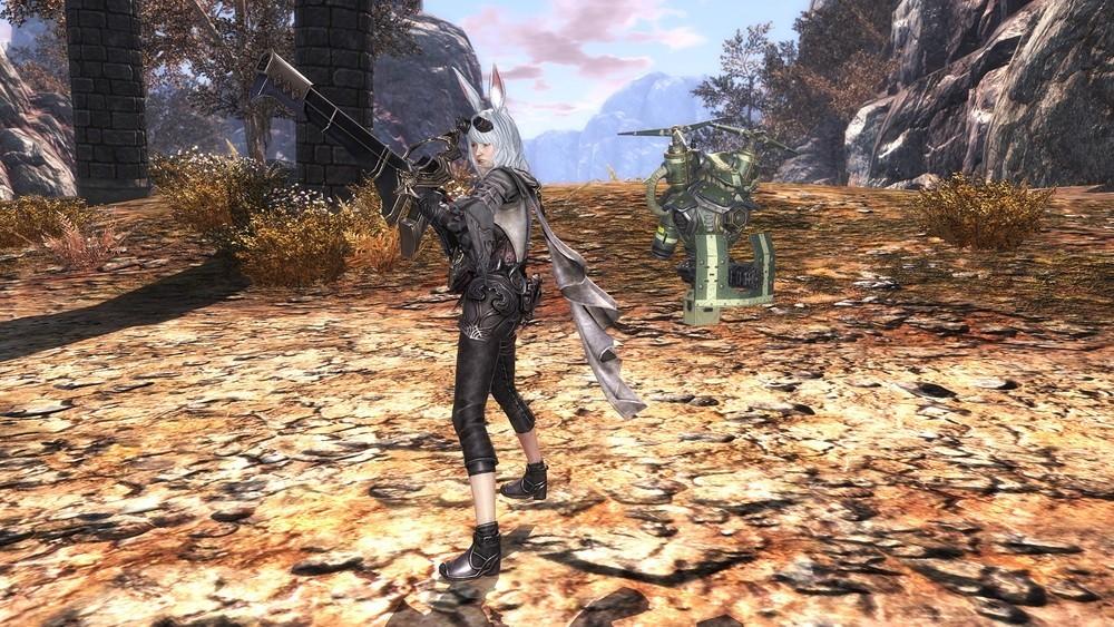 基本プレイ無料の純国産MMORPG、エターナル、新職業「ガンナー」を実装したよ