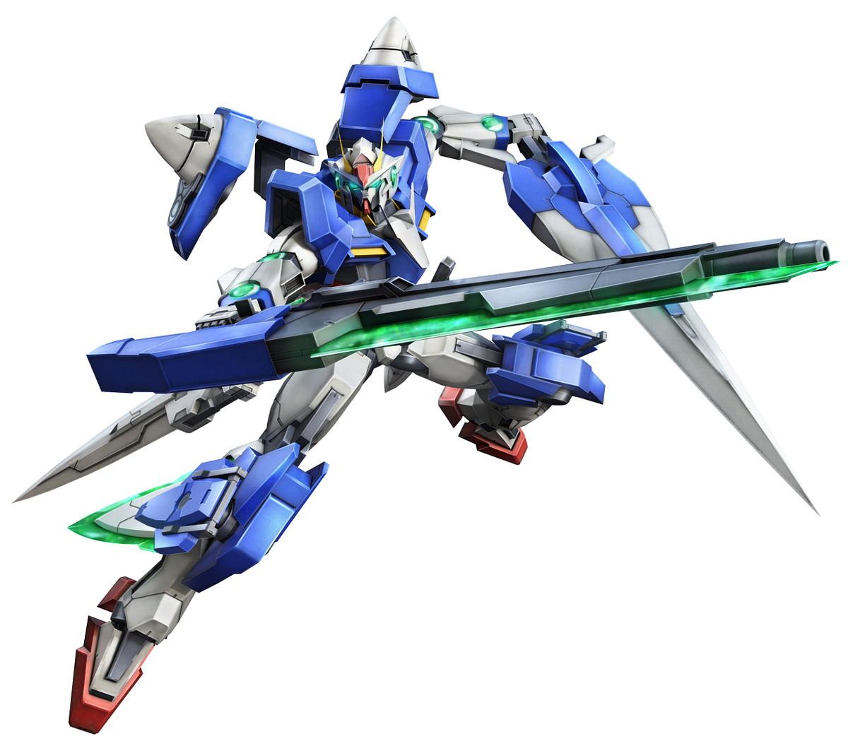 基本プレイ無料のアニメ100人同時対戦が楽しめるオンラインゲーム、機動戦士ガンダムオンライン、新機体「ジャスティスガンダム」と「ダブルオーガンダム セブンソード/G」が登場したよ