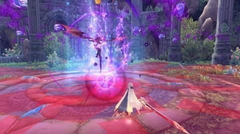 基本プレイ無料のアニメチックファンタジーオンラインゲーム、幻想神域、超高難度ダンジョン「悲愴の龍窟」を実装したよ
