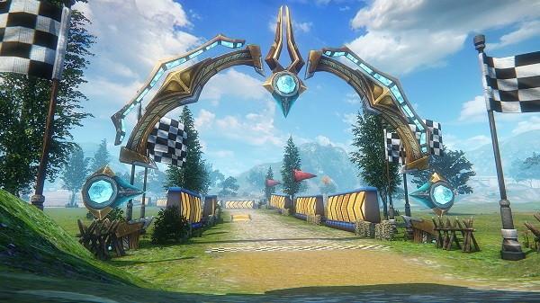 基本プレイ無料のファンタジーMMORPG、イカロスオンライン、新コンテンツ「フェローレーシング」を実装したよ