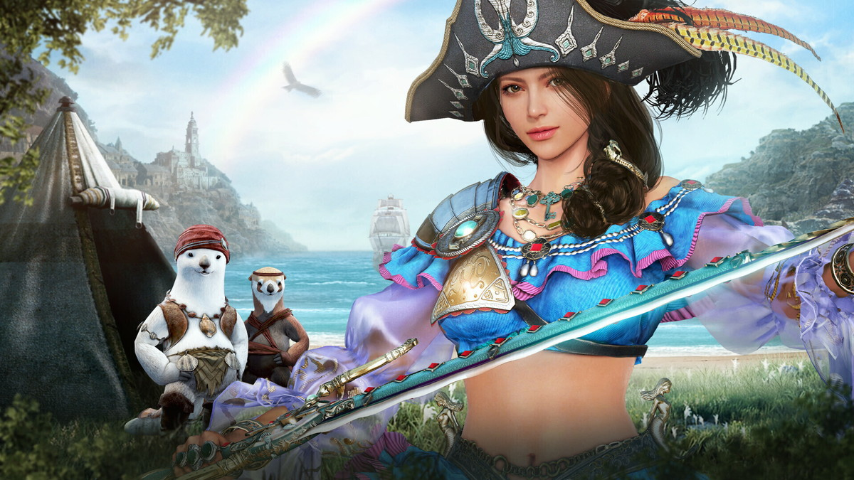 基本プレイ無料のノンターゲティングアクションMMORPG、黒い砂漠、女海賊・コルセアに覚醒が実装されたよ