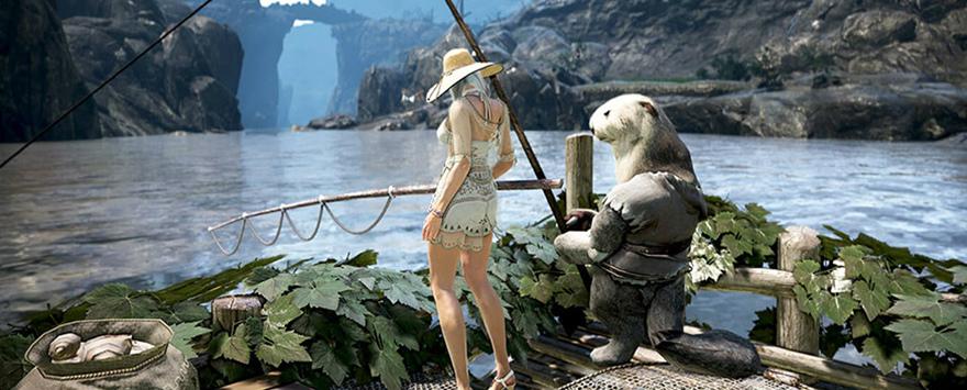 基本プレイ無料のノンタゲーティングアクションMMORPG、黒い砂漠、一攫千金の大チャンス!?釣りイベント「寒い季節は銀のサヨリが大量発生!?」を開始したよ