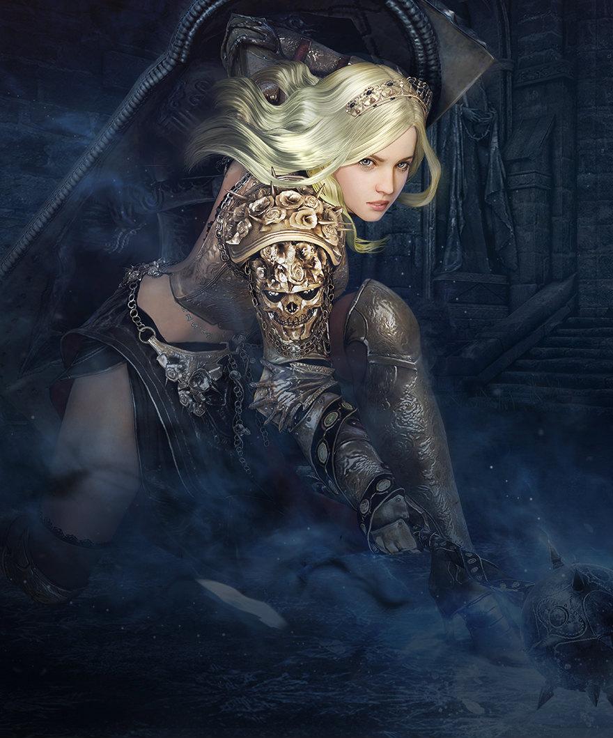 基本プレイ無料のノンタゲーティングアクションMMORPG、黒い砂漠、新クラスとしてカルフェオン最後の王女・ノヴァを実装したよ