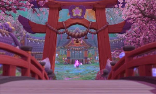 基本プレイ無料のクロスジョブファンタジーRPG、星界神話、新ダンジョン「異変・アマノハクオウ神宮」を実装したよ