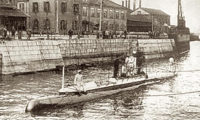 20212524 第六潜水艇