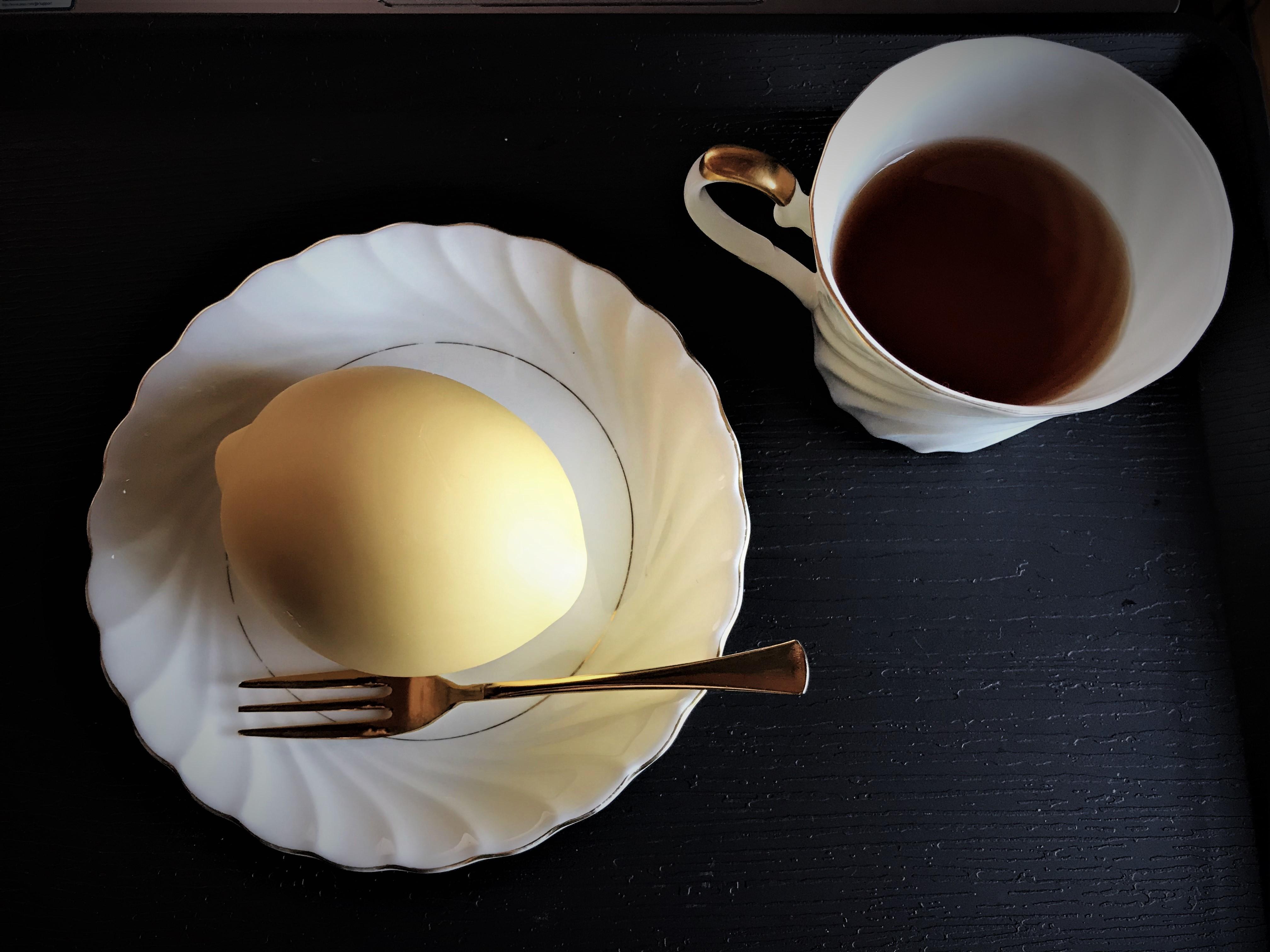 生レモンと紅茶