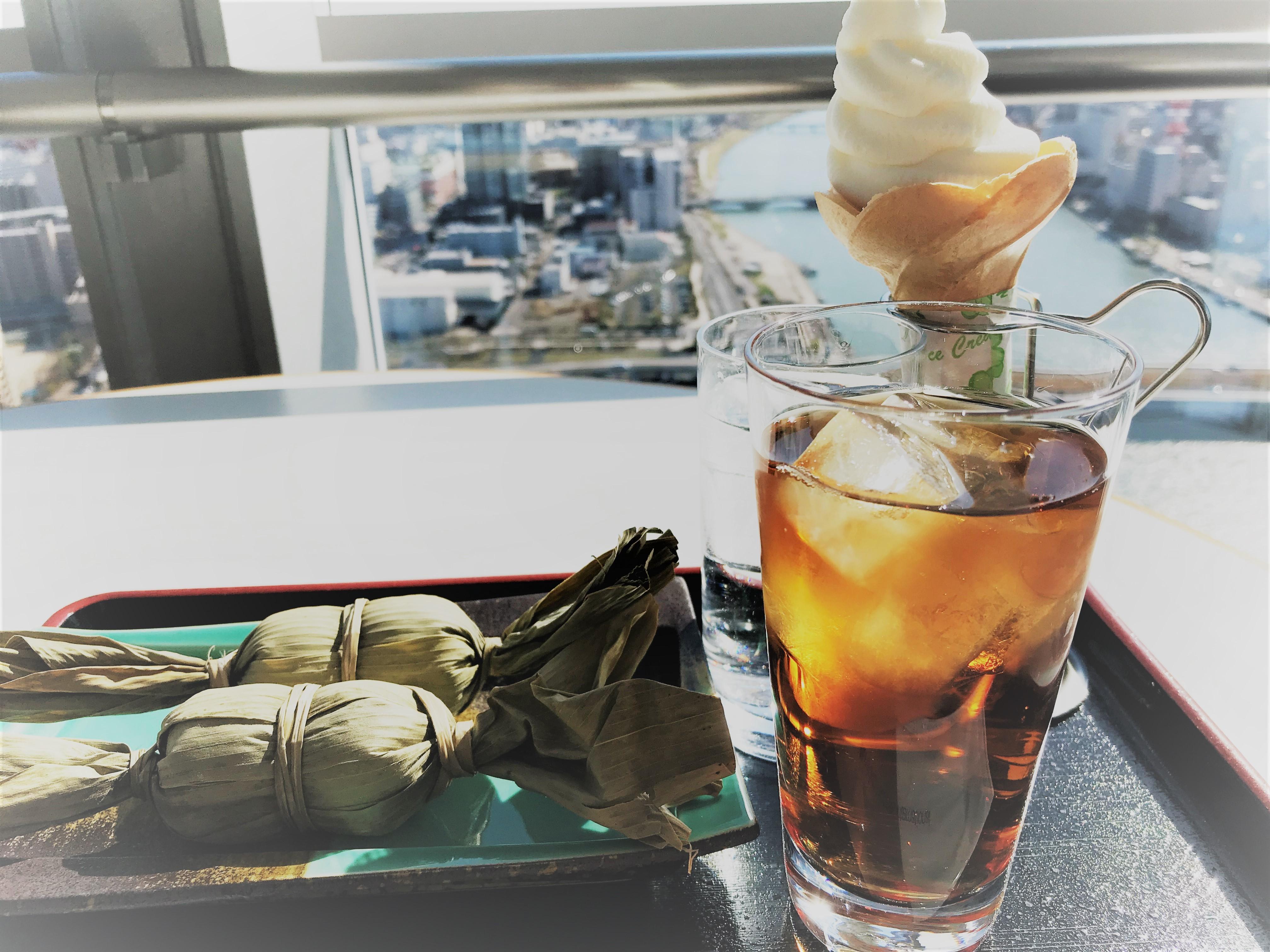 PANORAMA 笹団子とウーロン茶のセット
