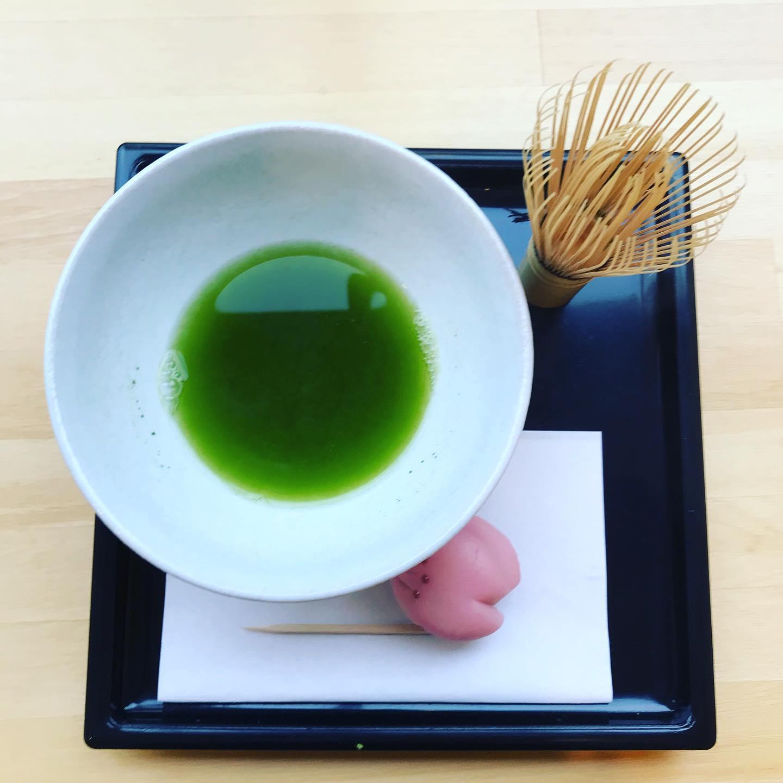 月岡温泉の和NAGOMIで抹茶体験1