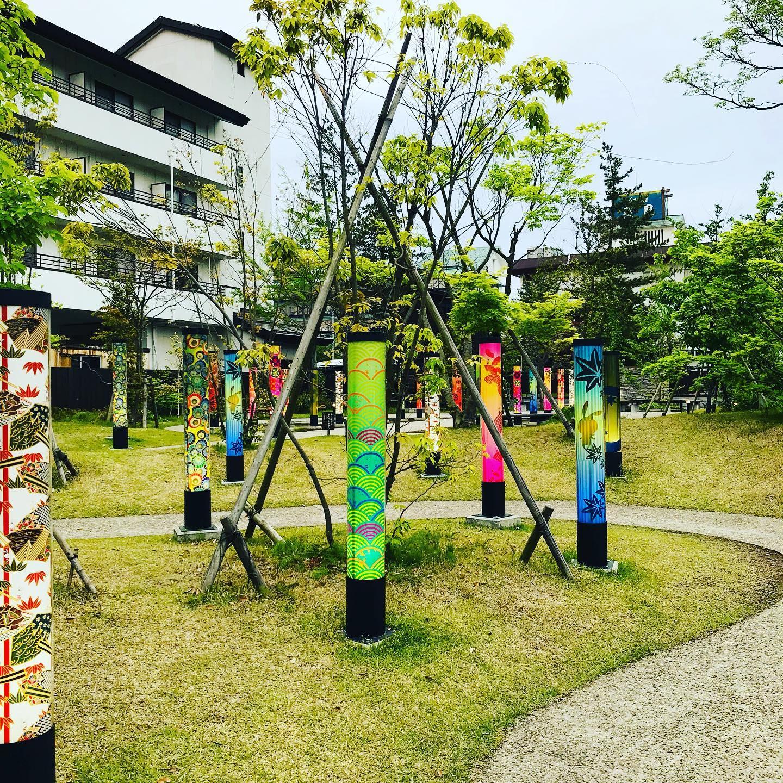 月岡温泉月の庭