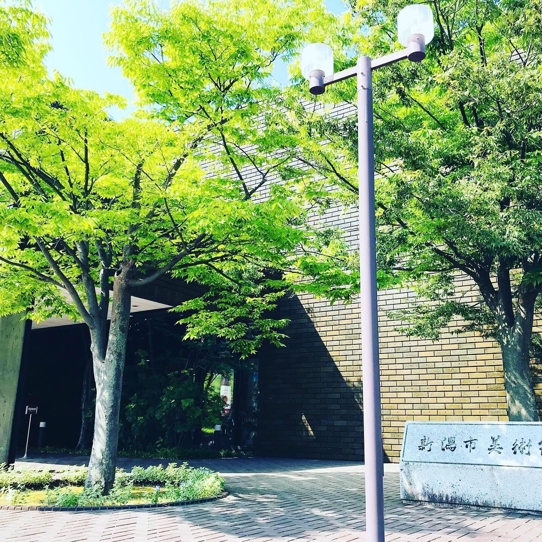 新潟市美術館外観