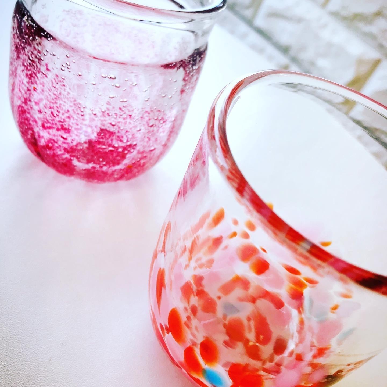 びいどろさんで作った手造りグラス