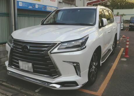 レクサス レクサスLX SUV トヨタ 窃盗 名古屋
