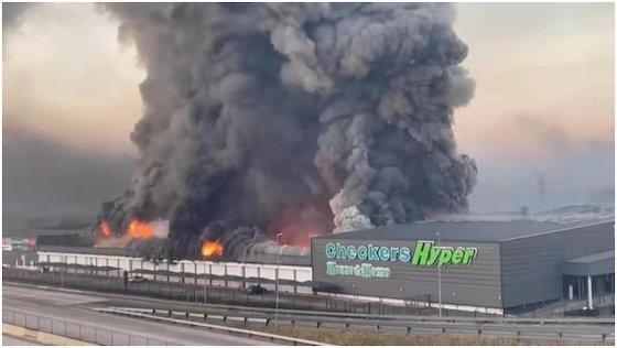 南アフリカ チャイナタウン 暴動 焼き討ち ピーターマリッツバーグ市