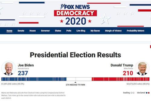 米大統領選 トランプ バイデン