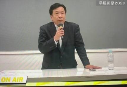 立憲・枝野代表「総理大臣になりたいの協力して」