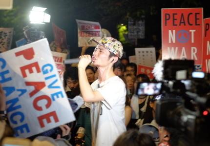SEALDS パヨク 共産党 青年部 年寄り