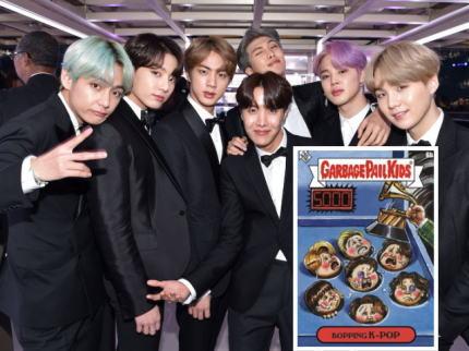 BTS 韓国 グラミー賞 モグラたたき カード