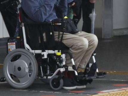 車椅子 障害者 プロ市民 バリアフリー