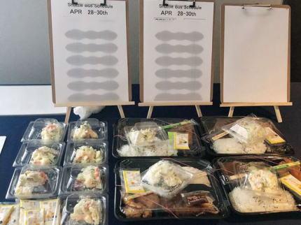 東京五輪 プレ五輪 食事 カップ麺