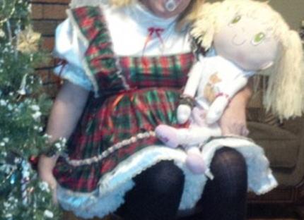 トランス 女児 お人形