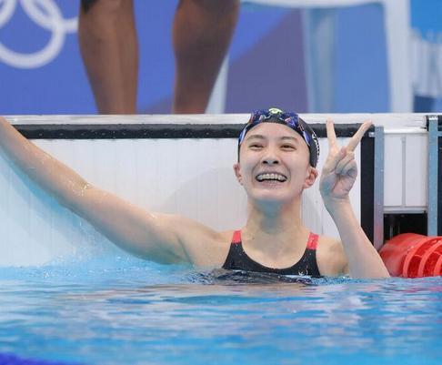 大橋悠依 水泳 個人メドレー 東京五輪 金メダル