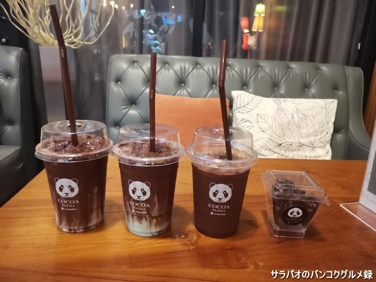 ココアパンダはチョコレート好きにおすすめのココア専門カフェ in ヤーンナーワー区