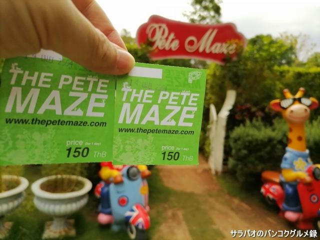 Pete mazeพิชญ์เขาวงกต