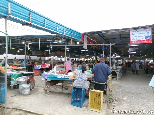 Wongwian Plamuk Market ตลาดนัด วงเวียนปลาหมึก