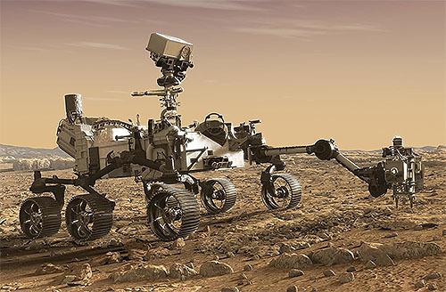 NASAの新火星探査車「パーセベランス」