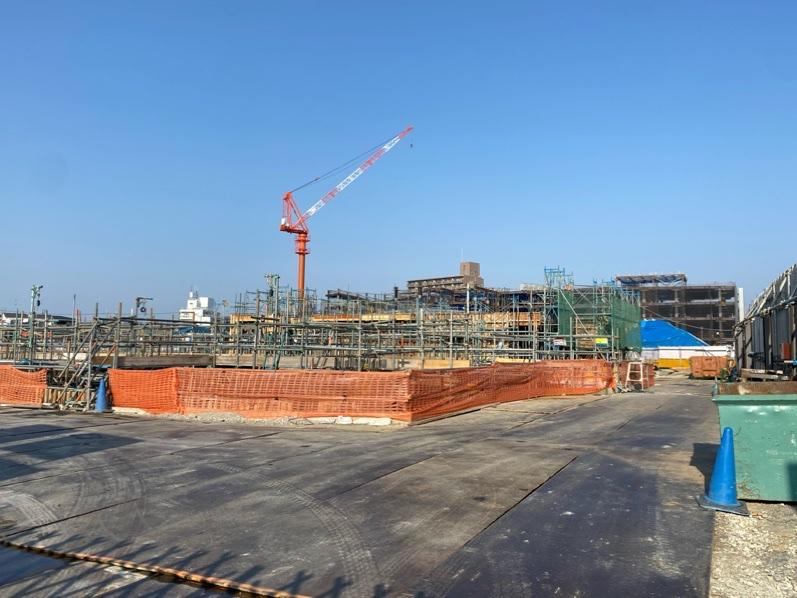 Suita SSTの建設現場2