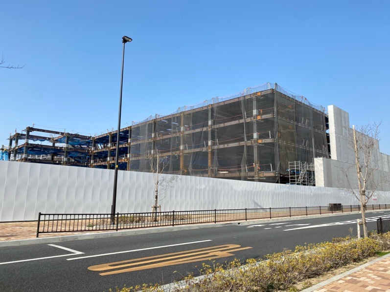 Suita SSTの建設現場4