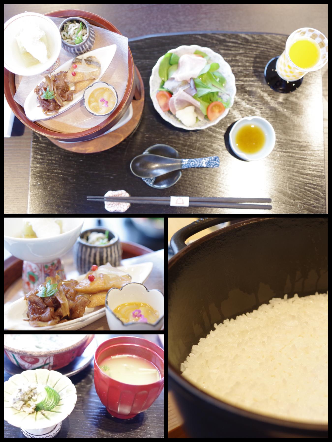 熱海市網代  旅館「山龢〈さんが〉」貴賓館 蒼 朝食
