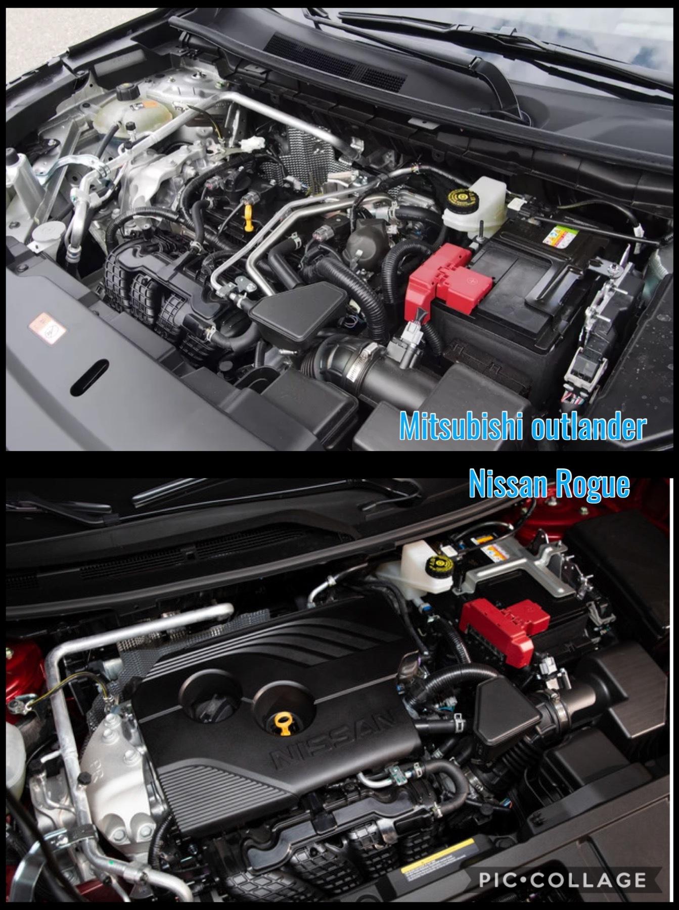 三菱新型アウトランダー 日産新型ローグ2.5Lエンジン