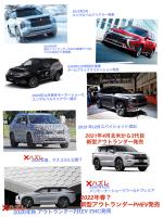 三菱3代目新型アウトランダーPHEV発売までの経緯(修正)