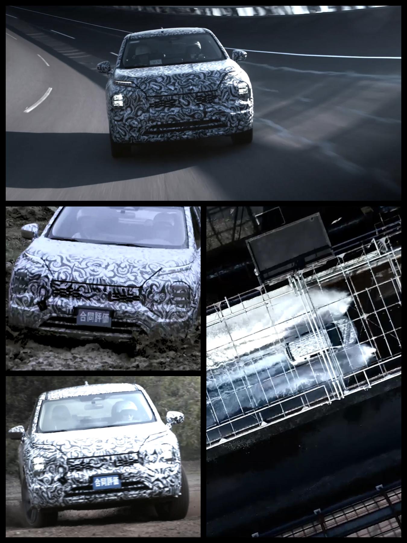 Mitsubishi all new outlander2021 三菱新型アウトランダー2021