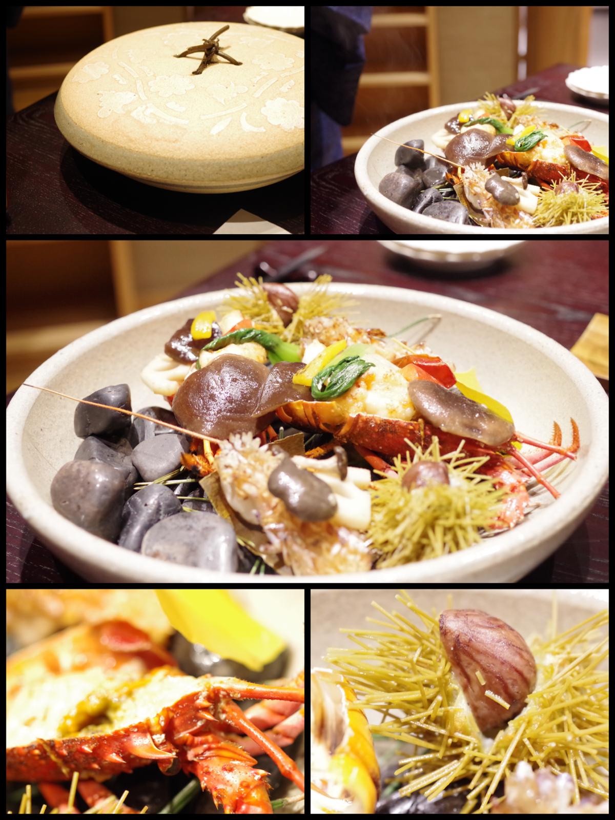 熱海市網代  旅館「山龢〈さんが〉」貴賓館 蒼 夕食