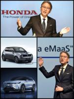 ホンダ2040年までに全ての新車をEV・FCVに