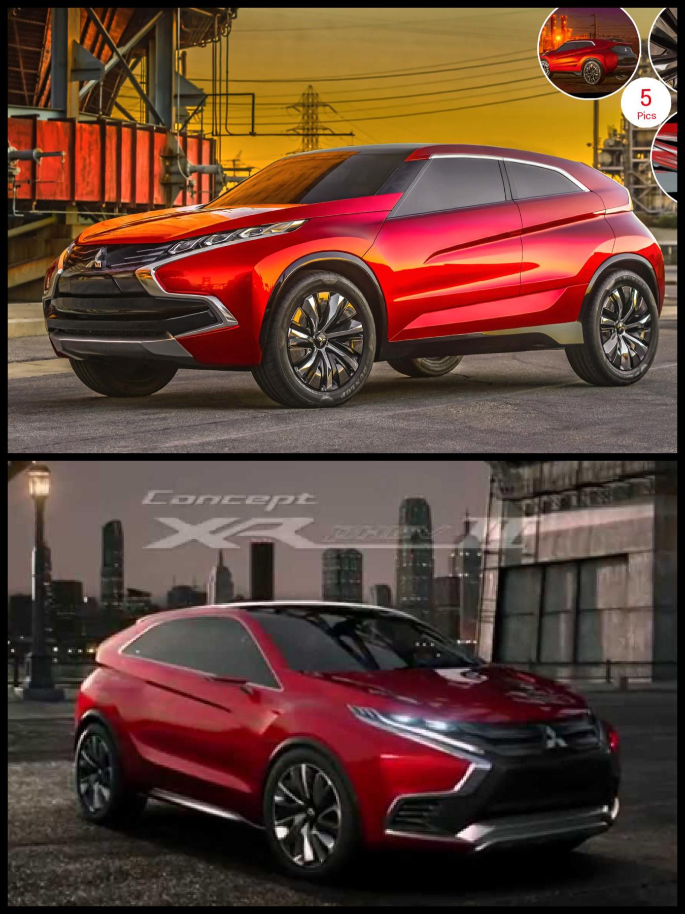 三菱 Mitsubishi concept XR-phev & XR-phev Ⅱ