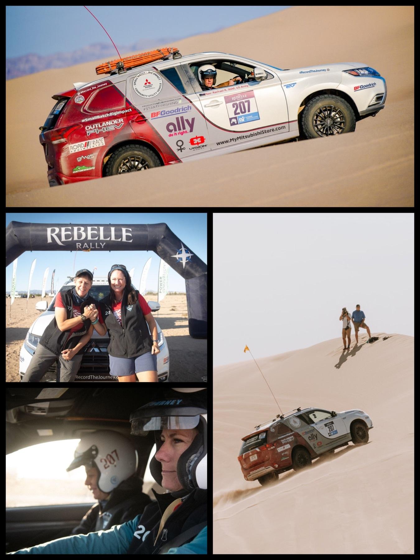 米女性ラリー「Rebelle Rally」三菱アウトランダーPHEV3位に