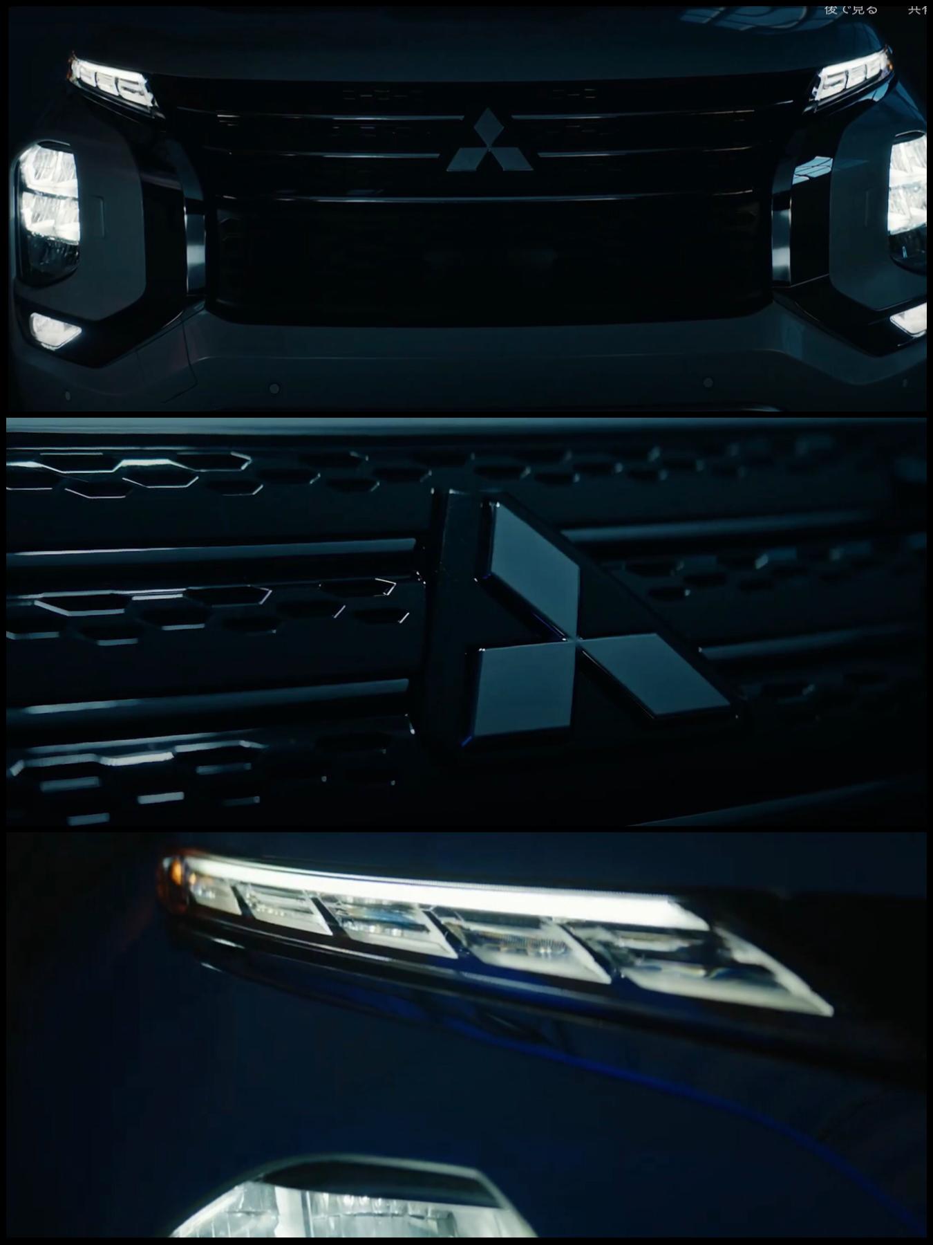三菱新型アウトランダー2021-2022(北米仕様)Mitsubishi outlander2022