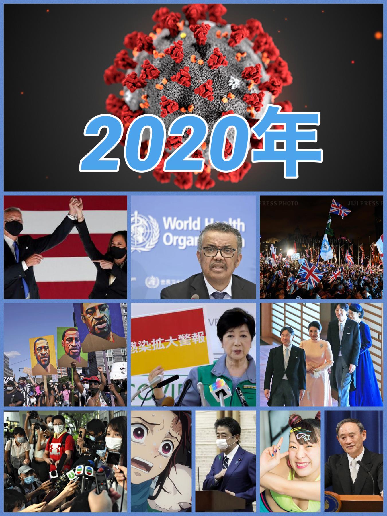 2020年の出来事  コロナに明け暮れた1年でした