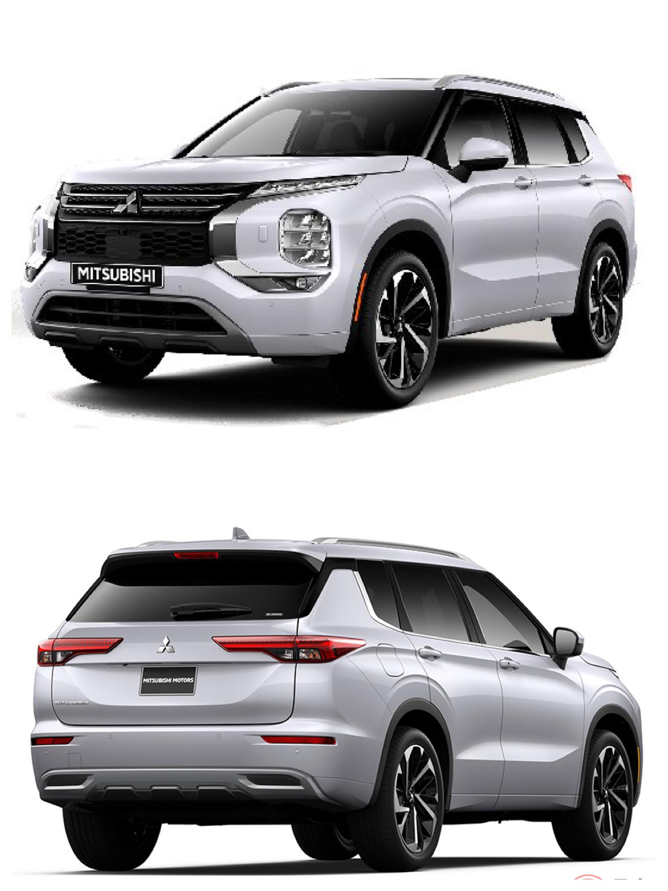 all new Mitsubishi Outlander 2021 2022 三菱新型アウトランダー
