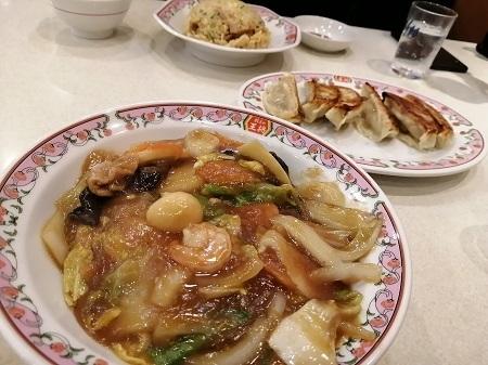餃子の王将の中華飯