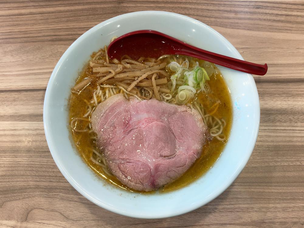 くじら食堂 nonowa東小金井店 -- 朝ラーメン(海老)