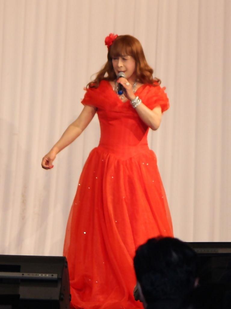 赤ドレス舞台A(3)