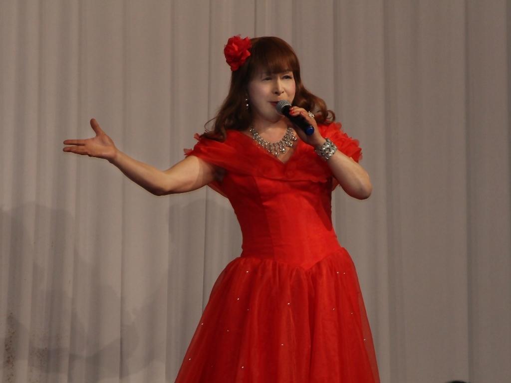 赤ドレス舞台A(4)