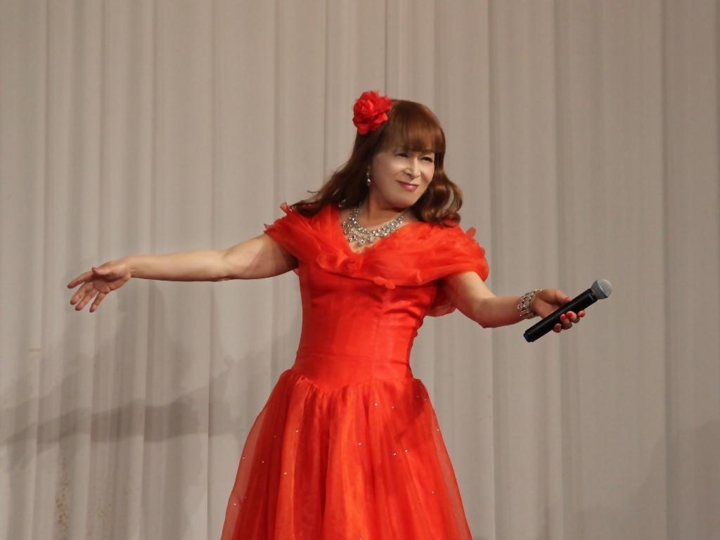 赤ドレス舞台A(5)