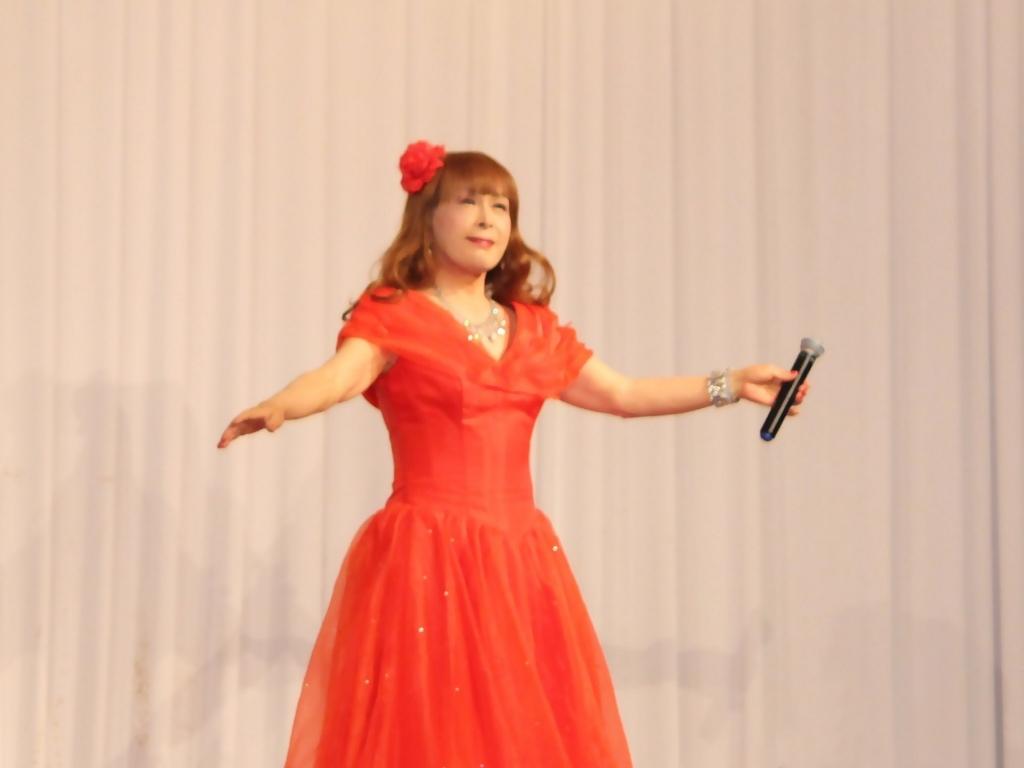 赤ドレス舞台A(7)
